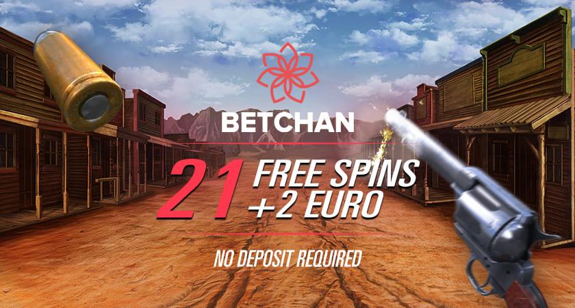 Betchan No Deposit Free Spins