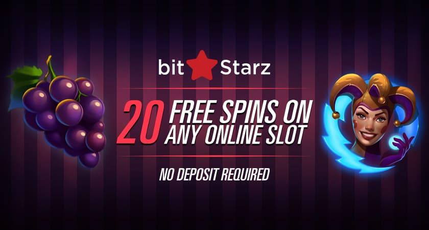 Bitstarz Casino No Deposit 20 Free Spins For Everyone