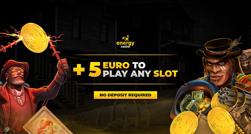 Energy Casino No Deposit Bonus €5 2021