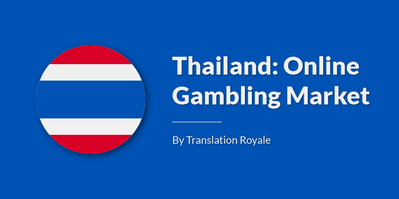 Thailand is trying to rebooking online gambling