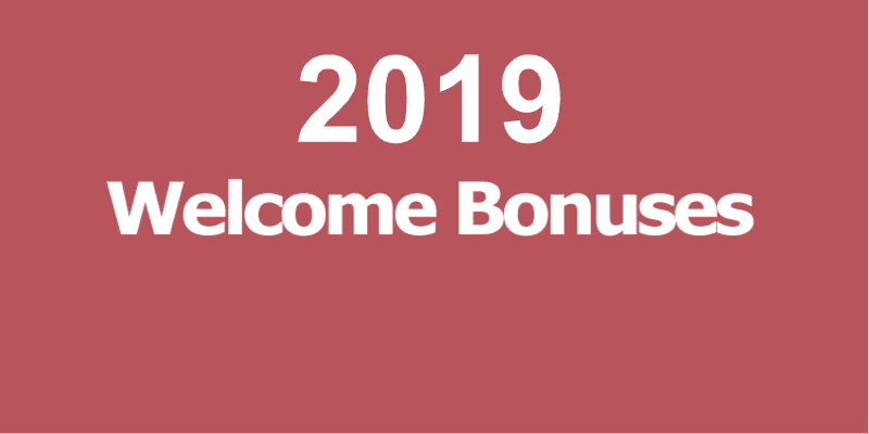 Best Online Casino Welcome Bonuses 2019 For New Players