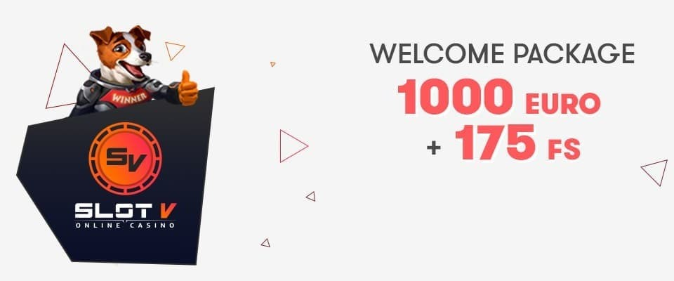 SlotV Casino Welcome Bonus
