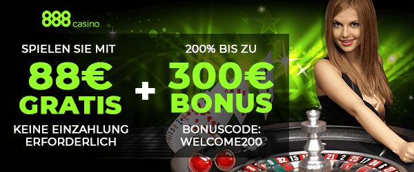 888 Casino € 88 Keine Einzahlung