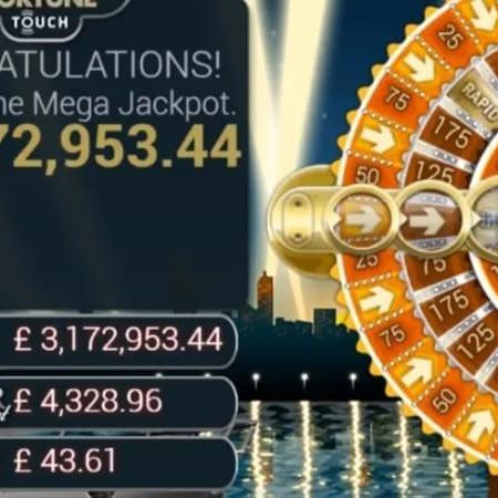 Mega Fortune Jackpot cracked at £ 3.1 million in August 2019