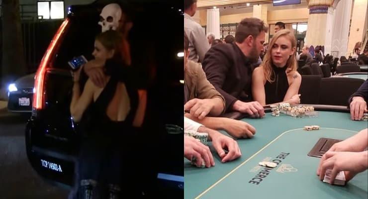 Drunk Ben Affleck playing Poker