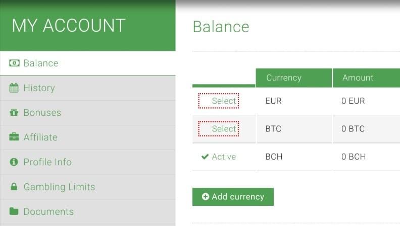 Bitstarz Casino BTC-EUR