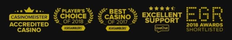 Bitstaraz casino Awards