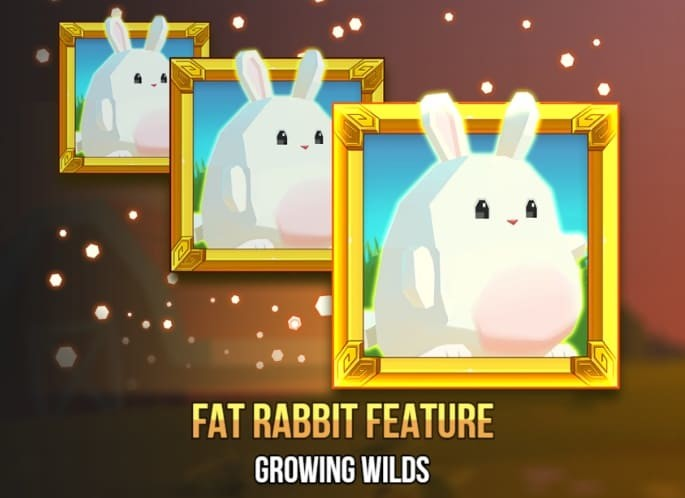 Fat Rabbit slot - Freespins bonus feature