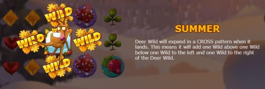 Deer (Summer) seasons slot