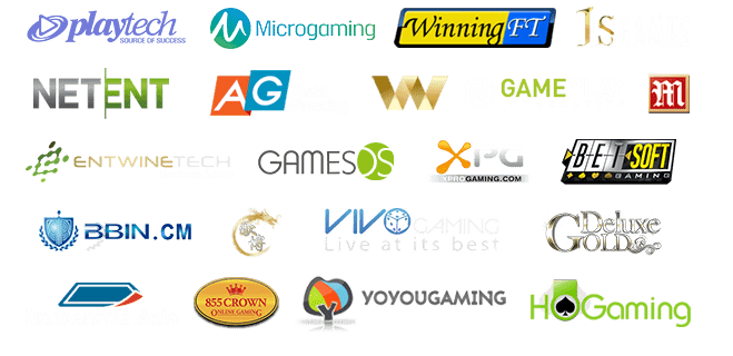 Popular software providers for Online casinos