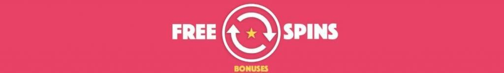 Free spins bonuses and bonus codes