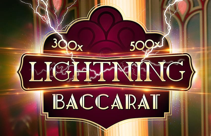 Lightning Baccarat: The new table game from Evolution Gaming