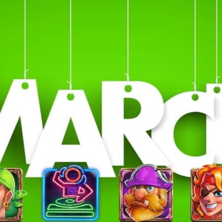 New slots for the end of March in the online casinos