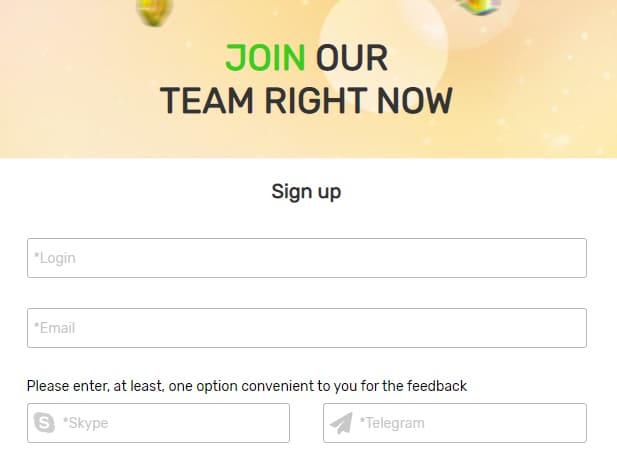 Gambling Craft Profile Registration