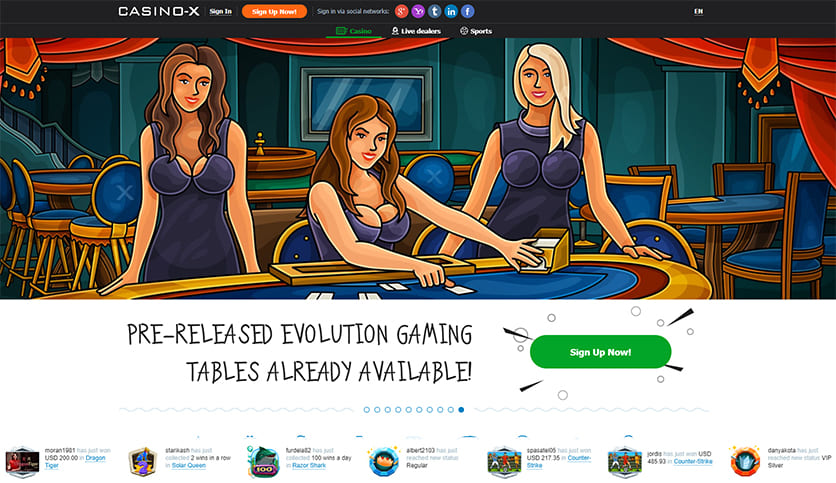 Casino X Review & Ratings