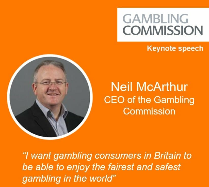 Gambling Commission chairman Neil McArthur