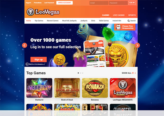 LeoVegas Casino Review & Ratings
